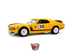 HotWheels - George Follmer´s ´70 Mustang Boss 302