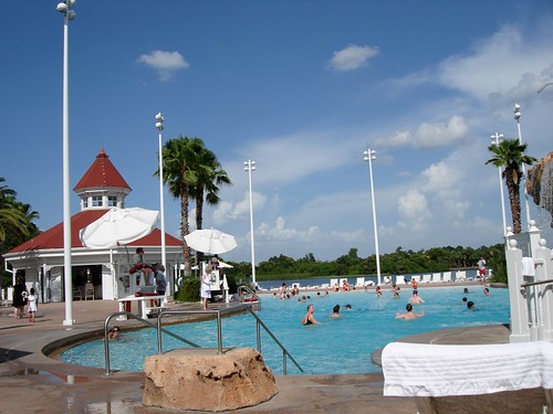 Beach Pool at the Grand Floridian