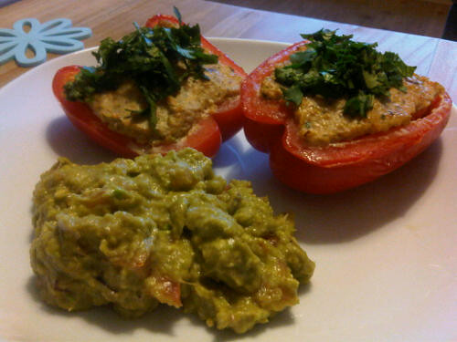 Chicken stuffed pepper 2