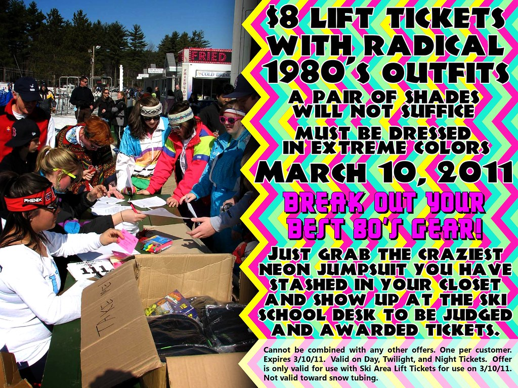 Really? An $8 Lift Ticket! Tell them how to win!!! ONLY ON MARCH 10, 2011 at Nashoba Valley Ski Area.