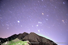 Raba Raba Mein Barsaa (rizwanbuttar) Tags: travel pakistan mountain night star trails swat rizwan buttar