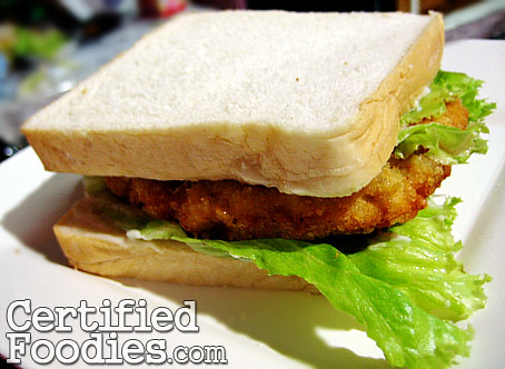 My homemade chicken sandwich - CertifiedFoodies.com