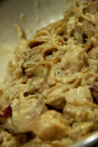 What's for dinner: Chicken Carbonara