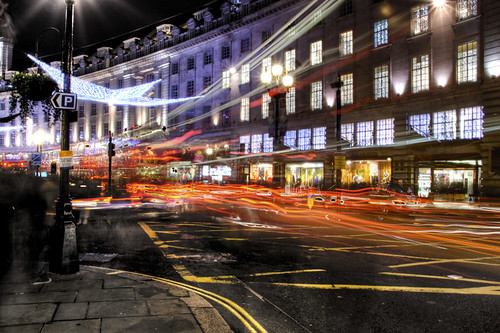 Regent Street lights. London. Luces de Regent Street