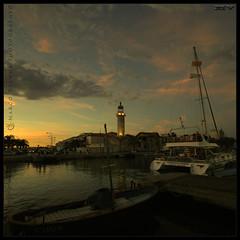 Noche de Verano (m@®©ãǿ►ðȅtǭǹȁðǿr◄©) Tags: sunset france canon sigma legrauduroi canoneos400ddigital m®©ãǿ►ðȅtǭǹȁðǿr◄© sigma10÷20mmexdc marcovianna portlacamargue imagenesdefrancia fotosdefrancia