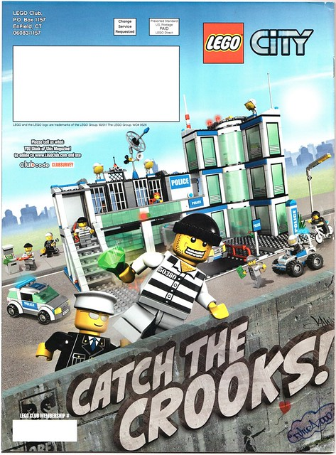 Banksy LEGO Club ad for Eyeteeth