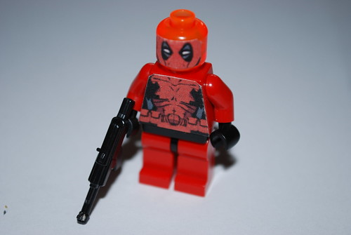 Lego Deadpool 2012 Face Decal | Lego Deadpool 2012 Face Deca… | Flickr