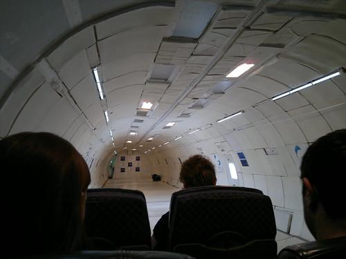 Zero-gravity plane