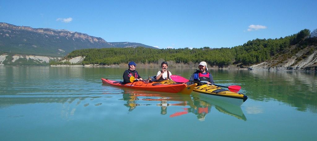 Pantano de Yesa en kayak 005