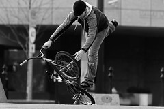 So You Think You Can Dance Part II (Ian Sane) Tags: park street white black bicycle tom oregon river portland ian photo