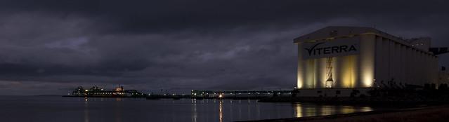 Grain terminal in Port Lincoln