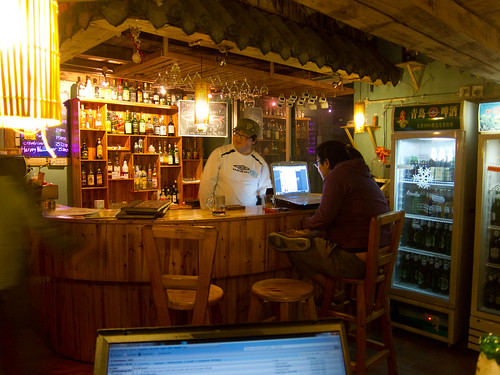 Bar in Sims Cozy Hostel