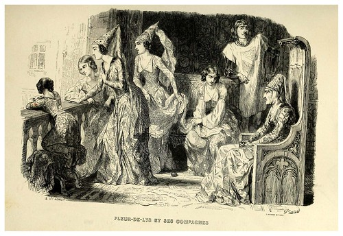 002-Flor de lis y sus amigas-Notre-Dame de Paris 1844- edicion Perrotin Garnier Frères