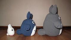 totoro (difsus) Tags: toy handmade totoro amigurumi crocheted japanesetoy crocheting crochetedtoy