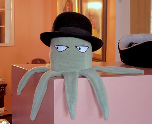 Squid Plush with hat