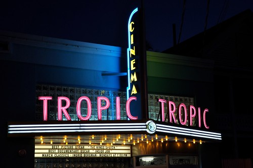 Tropic Cinema Marquee