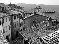 Italian rooftops (Guido Havelaar) Tags: italien bw italy italia rooftops tuscany schwarzweiss pretoebranco umbria noirblanc  bellaitalia   neroeblanco italiantourism italiaturismo turismoitaliano