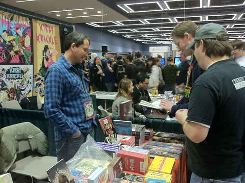Top Shelf at Emerald City ComiCon - Brett Warnock