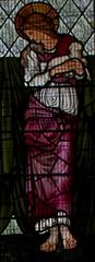 St Agnes (IanAWood) Tags: london raw stainedglass williammorris putney allsaintschurch churchwindows churchofengland morrisco d3x siredwardburnejones walkingwithmynikon nikkorpce24f35 surreychurches