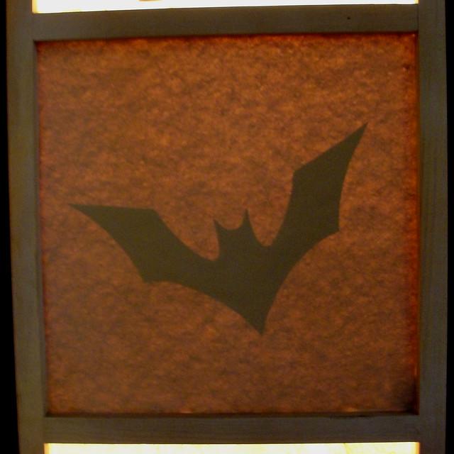 batman beyond bat signal b