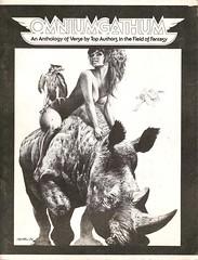 Omniumgathum (1976) (horzel) Tags: poetry illustrated fantasy nudity rhinoceros anthology clydecaldwell stygianislepress
