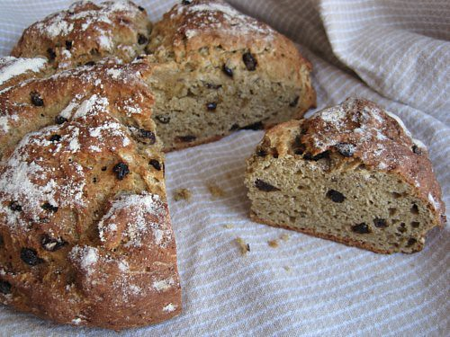 Recipe for Gluten Free, Sugar Free Irish Soda Bread