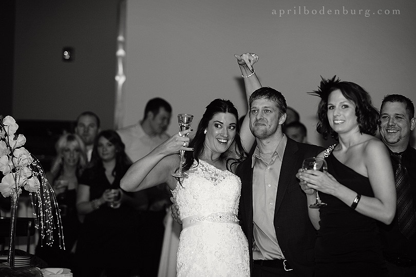 jenni & phil | wedding reception