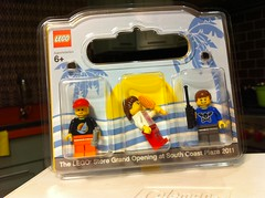 South Coast Plaza Grand Opening Minifigs
