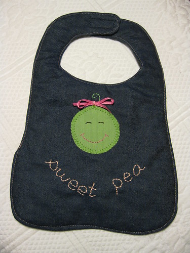 Bib for Sweet Pea