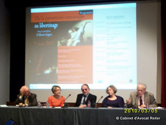 "Colloque "" de la perversion narcissique au libertinage "" (Marie-France Hirigoyen, Alberto Eiguer) le 5 mars 2011 à Paris (France)"
