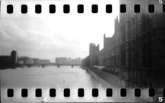 London (Matteo M.) Tags: white black london 120 film 35mm canon holga big lomo ben trix 1996 400 pan expired cfn 9000f