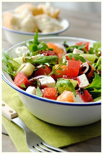 Pollyannaish Spring Salad