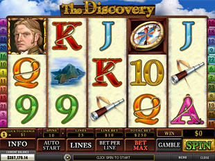 The Discovery slot game online review