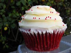auntie em's red velvet cupcake