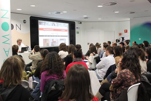 Conferencia inaugural a cargo de Javier Bauluz, director de periodismohumano.com