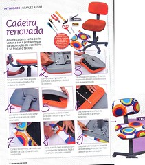 Decorao e Reciclagem: Passo a Passo Reforma de cadeira (Jessica Santin (Jehhhhh)) Tags: diy chair do revista it mais computador reforma decorao yourself mesmo por pap custo baixo cadeira menos barata voc tecido passo reformar faa renovar decorar renovada