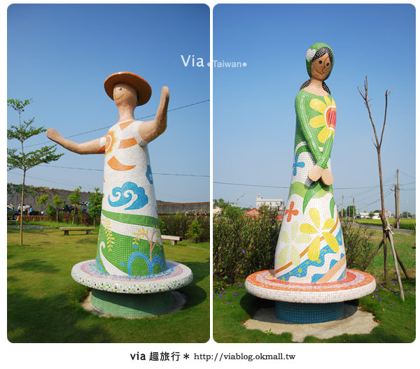 【嘉義景點】新港板頭村交趾剪粘藝術村~到處都是有趣的拍照景點!23