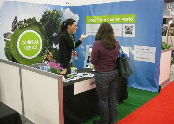 GLOBAL IDEAS booth