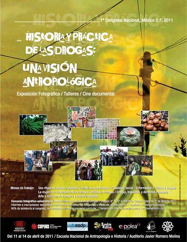 Primer Congreso Nacional Historia y Práctica de las Drogas: una visión antropológica