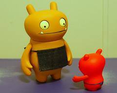 "(11-365) ""Are You My Daddy?"" (Tim Spivey1961) Tags: toy sony ox tray 365 uglydoll icebat babo jeero wage a550 taborcity timspivey"