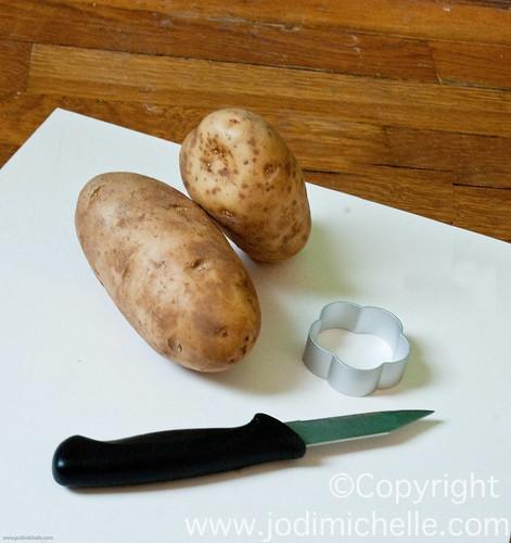 Potato Stampin!