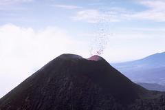 Pacaya Volcano spitting up (cocoi_m) Tags: nature volcano lava cone guatemala volcanic centralamerica pacaya stratovolcano volcaniccone ejecta compositecone