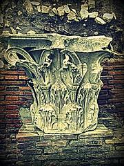 Prove di filtro (Colombaie) Tags: mostra roma antica amici insieme amicizia architettura hdr nationalgeographic citt campidoglio arce urbe capitello sfondo antichit rovina prove archeologia raduno fotografico corinzio ritocchi meraviglie ous capitolina filtri latericium combinate virare