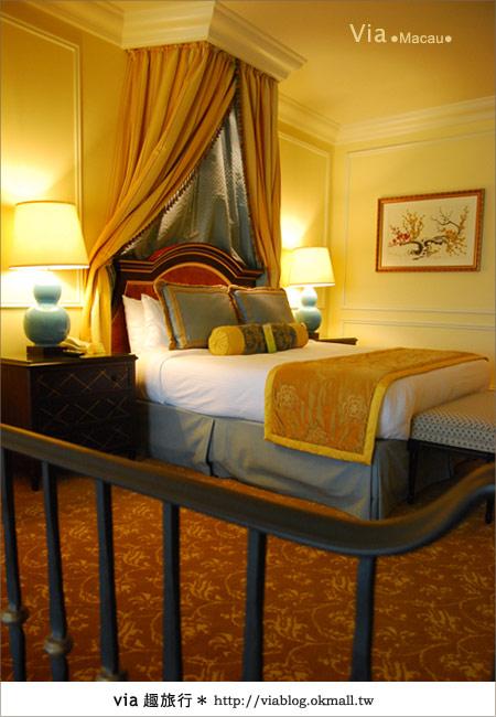 【澳門住宿】澳門威尼斯人酒店~享受奢華的住宿風格!28