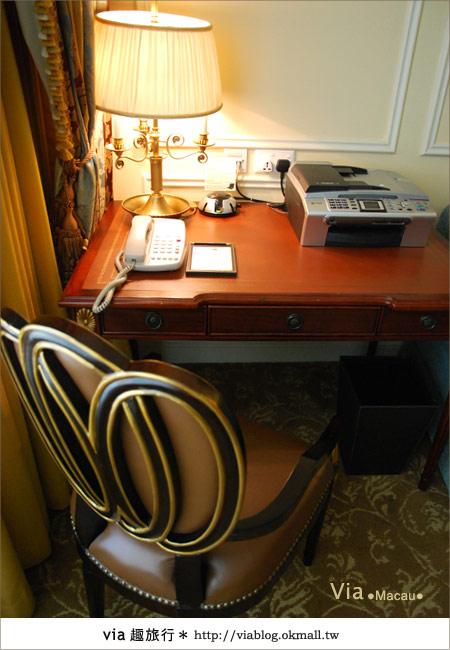 【澳門住宿】澳門威尼斯人酒店~享受奢華的住宿風格!25