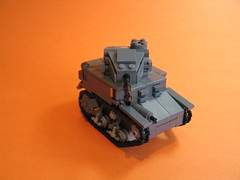 M3A1 Stuart Light Tank ([DustyBricks]) Tags: new tank lego wwii stuart m24 m3a1 lighttank