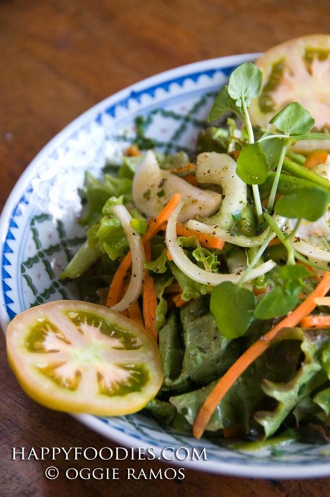 Oh My Gulay House Salad