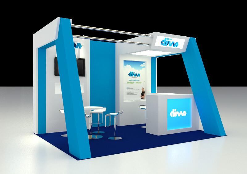 Exhibition Stand Sketchup : Exhibition booth design freelancer