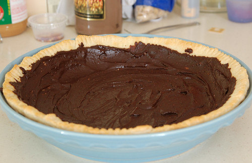 Chocolate Peanut Butter Pie 3