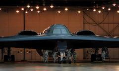 [フリー画像] 乗り物, 航空機, 爆撃機, B-2 スピリット, アメリカ空軍, 201103292300